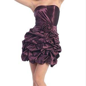 MayQueen Strapless Dress